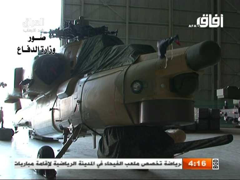 Vídeo: A espera chegou ao fim, Mi 28NE desembarcam no Iraque