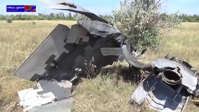 Mig-29 destruido