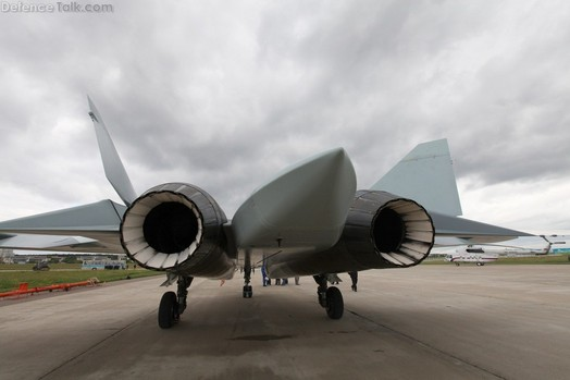 Test Flight Carried Out On Russia's 5G Fighter