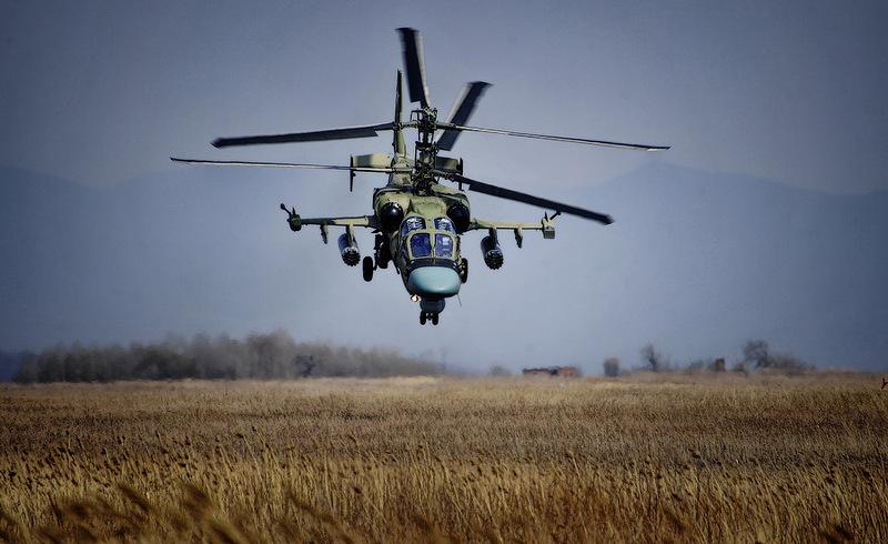 Ministério Russo encomenda Helicópteros KA-52K para os BPC Vladvostok e Sevastopol