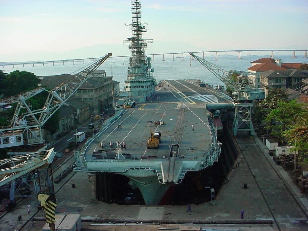 Marinha do Brasil (MB): Execuções Financeiras de Despesas do NAe São Paulo A12 de 2006 à 2012