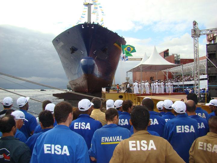 A decadência dos Estaleiros Cariocas Parte II: Synergy propõe suspender 3,2 mil empregos no EISA