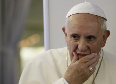 """""""Vivemos a 3ª Guerra Mundial"""", diz Papa Francisco"""