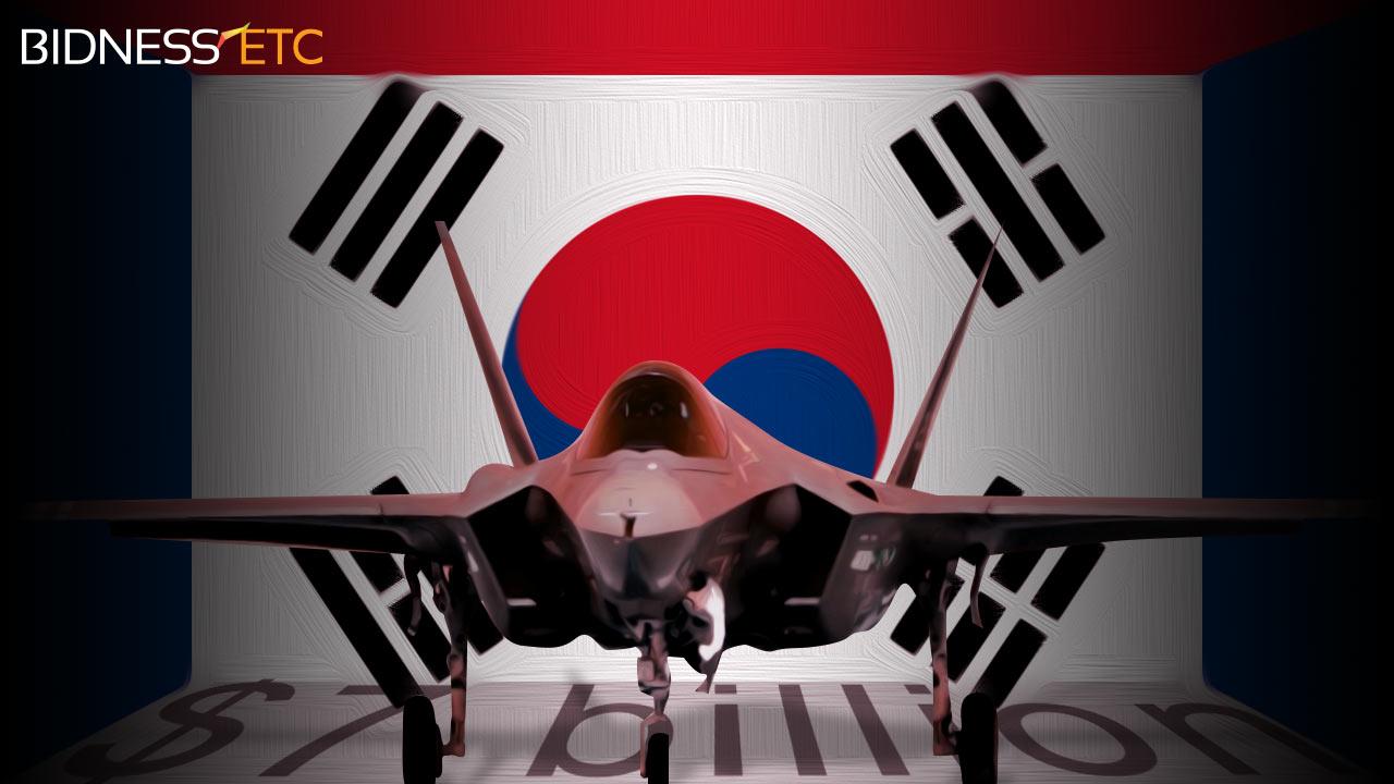 Coreia do Sul – Avança com o F-35A