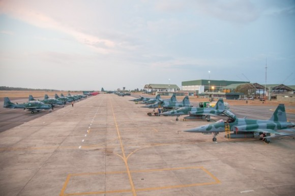 """Força Aérea Brasileira (FAB) em Ação: """"Exercício Operacional Sabre (Operação Sabre)"""""""