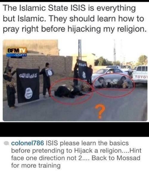 ISIS deve ser tudo menos um exército Islâmico…