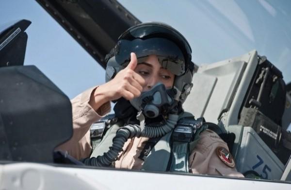 """Desculpe ISIS – """"Uma mulher bombardeou você!"""""""