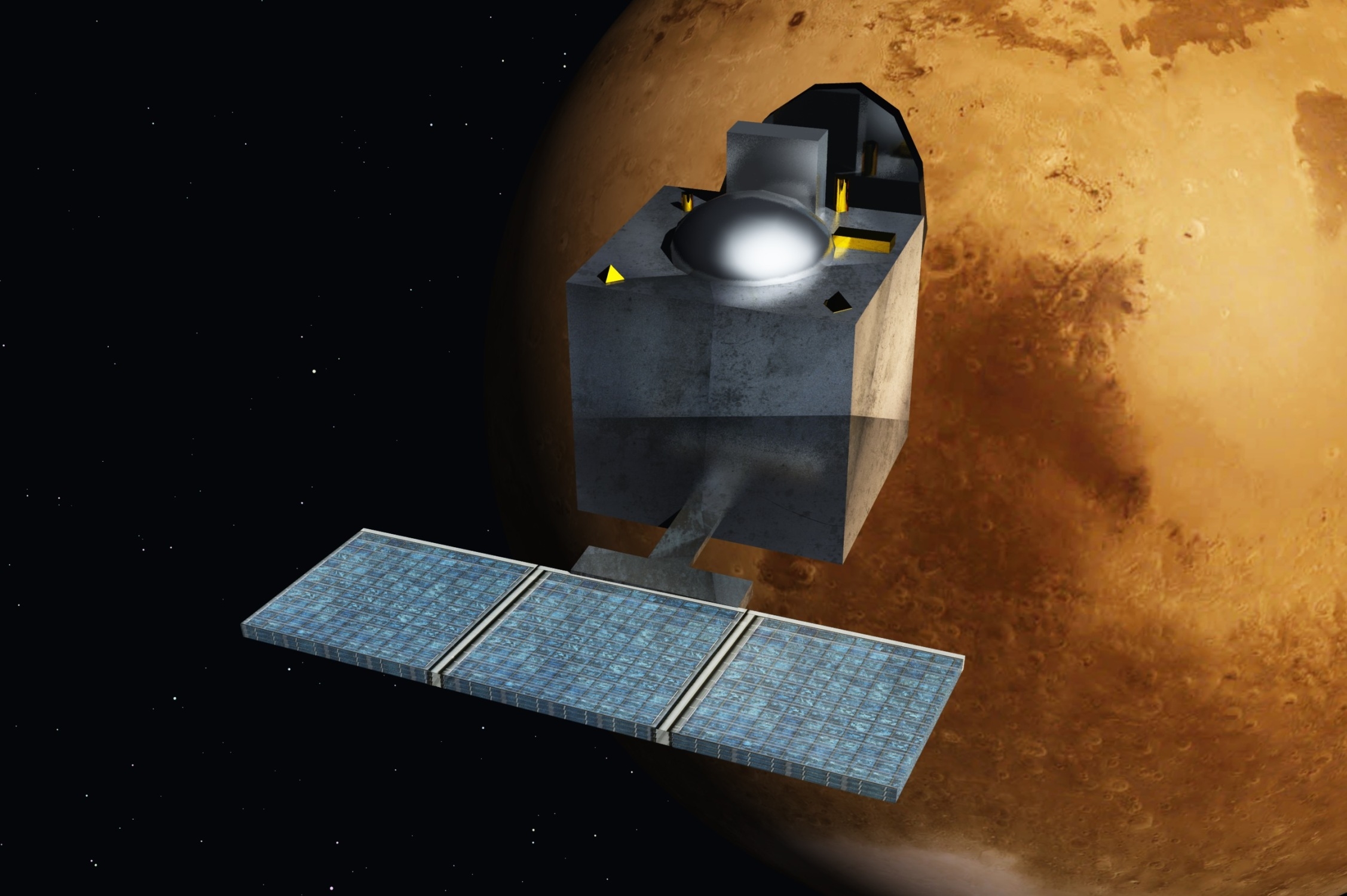 A Índia chegou a Marte!