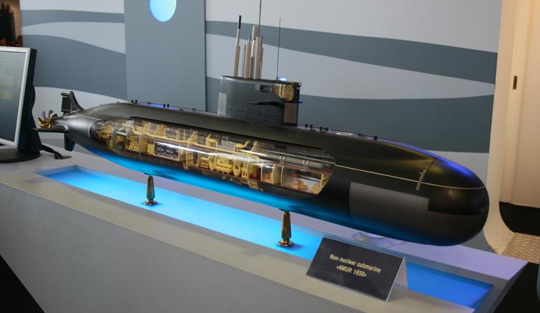 Egito escolhe submarinos Russos