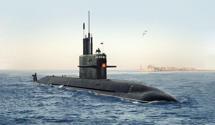 China se coloca na fila para comprar submarinos russos