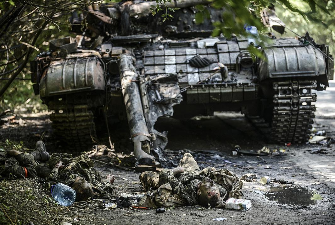 Exército russo leva terror a tropas ucranianas