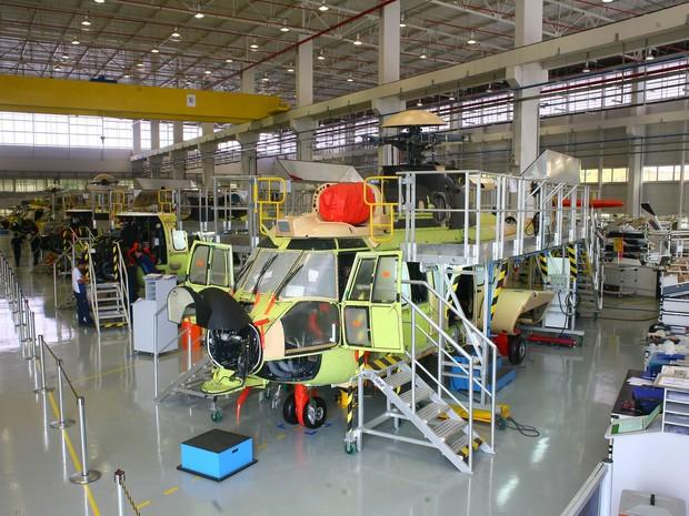 Helibras recebe primeiros créditos por offset do EC725