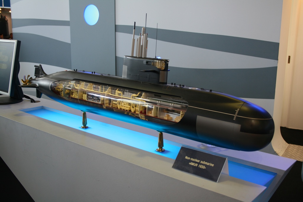 China adquire submarinos Armur 1650
