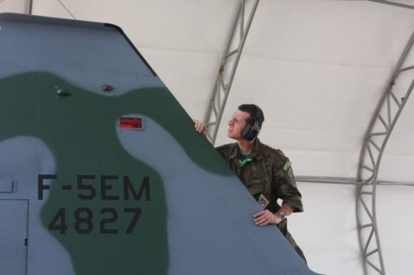 Caças F-5EM no Exercício Salitre 2014: 95% de disponibilidade
