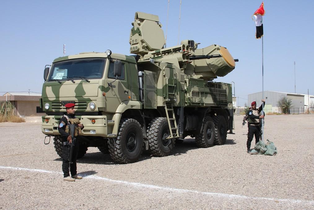 Novas imagens dos sistema anti Aéreos recebidos pelas Forças Armadas Iraquianas