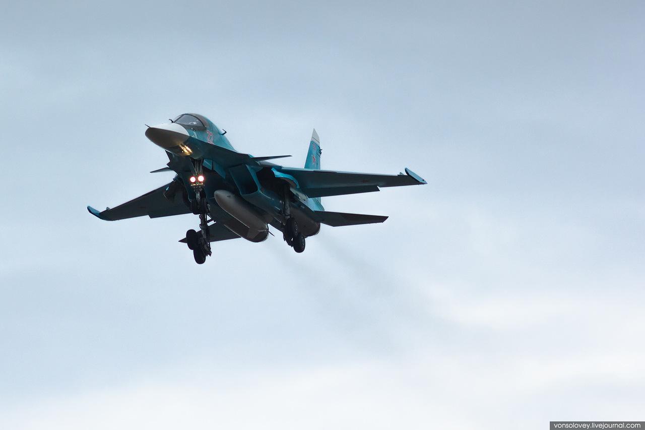 Recentemente reativado, o 559 º regimento de bombardeiros  recebe mais seis caças SU-34