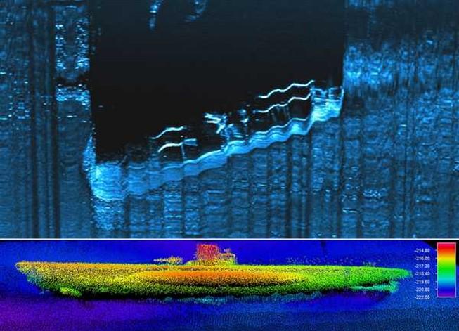 Localizado U-boat 576 afundado na Batalha do Atlântico em 1942