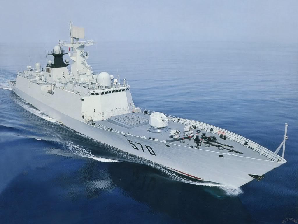 Revista Russa afirma que fragatas chinesas Type 54A são os navios ideais para a marinha Russa