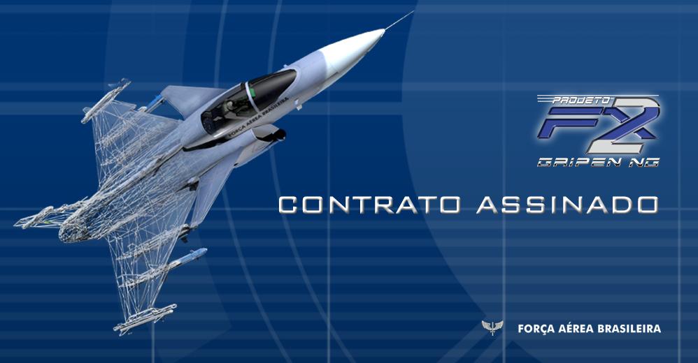 FAB:Nota oficial sobre o contrato de aquisição dos caças Gripen NG