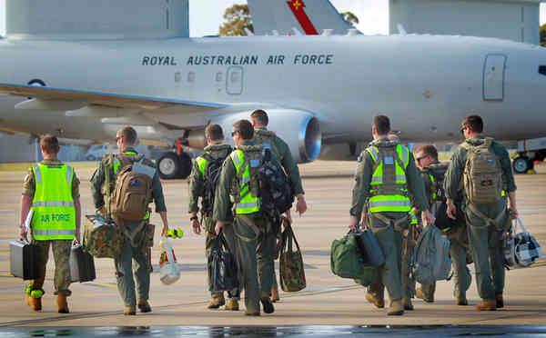 Real Força Aérea Australiana completa com êxito a sua primeira missão no Iraque