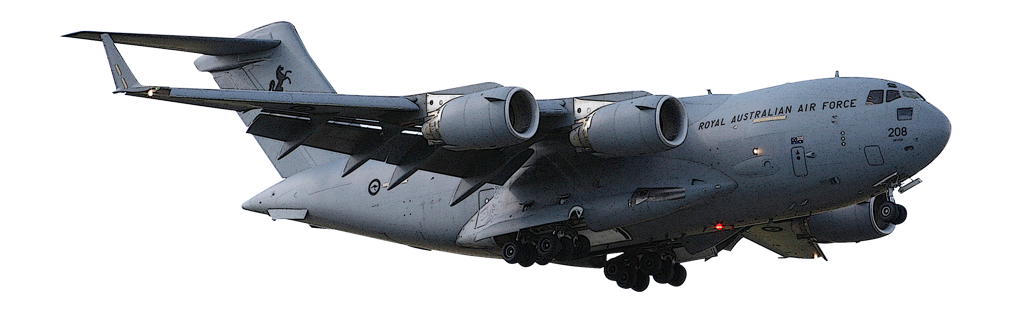 Austrália encomenda mais  C-17 Globe Master III