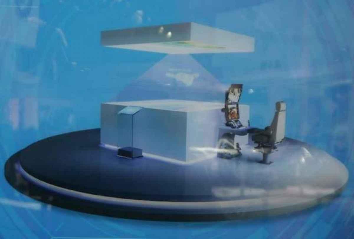 AVIC revela a guerra do futuro: Estação de Controle holográfica de solo
