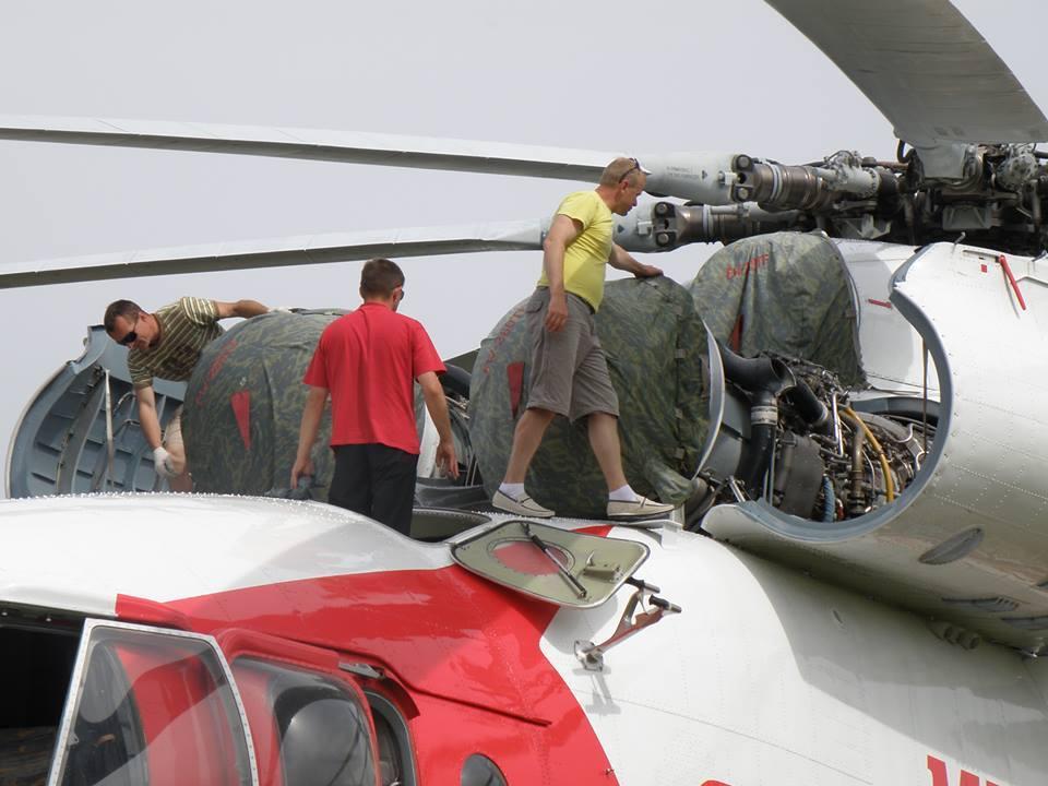 Defesa em arte: Você sabe qual o tamanho do Mil Mi-26 ???