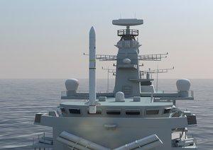 Marinha do Brasil seleciona Sea Ceptor para defesa aérea das corvetas da classe Tamandaré