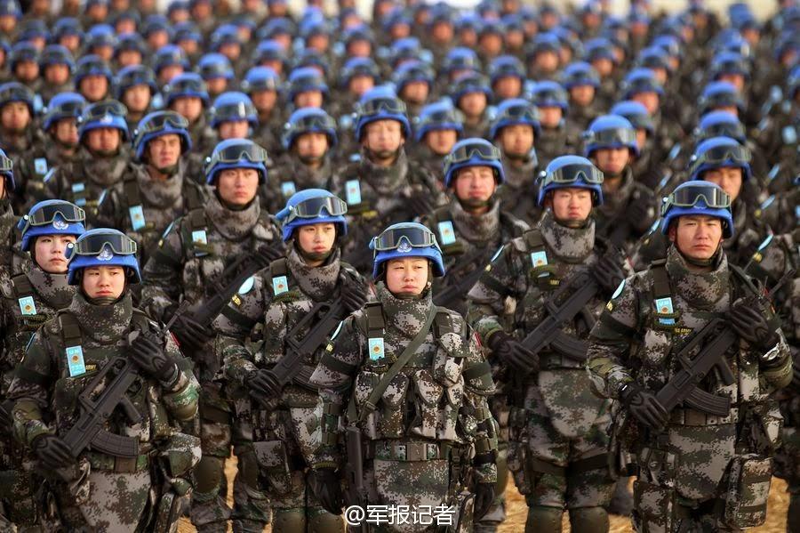 China enviará forças de paz para o Sudão do Sul