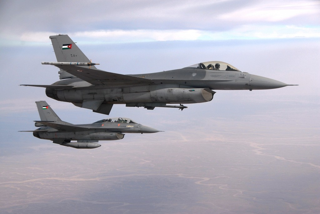 Terroristas do ISIL abatem F 16 Jordaniano