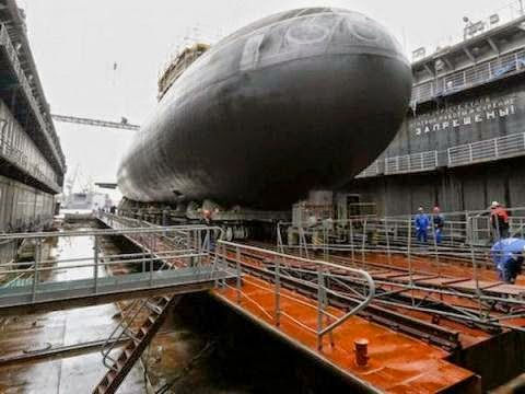 Vietnam's 5th Russian-Built Submarine Launched