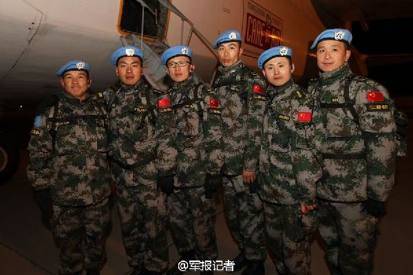 Chinese Peacekeepers (3)