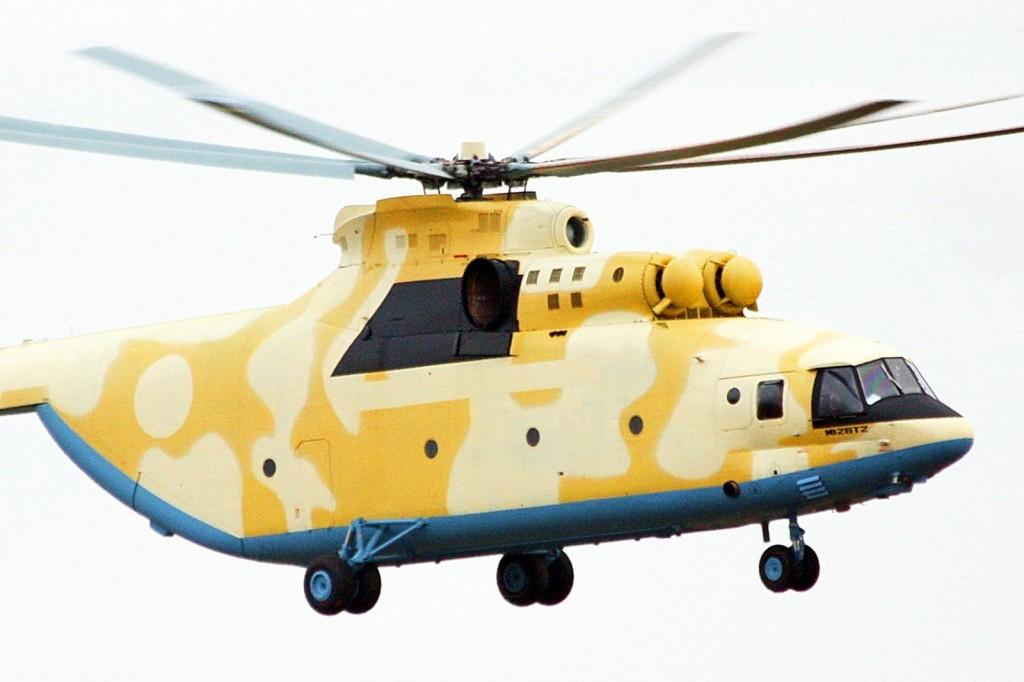 Voa o primeiro novo Mi- 26T2 da Argélia e mais um Mi 28 para o Iraque