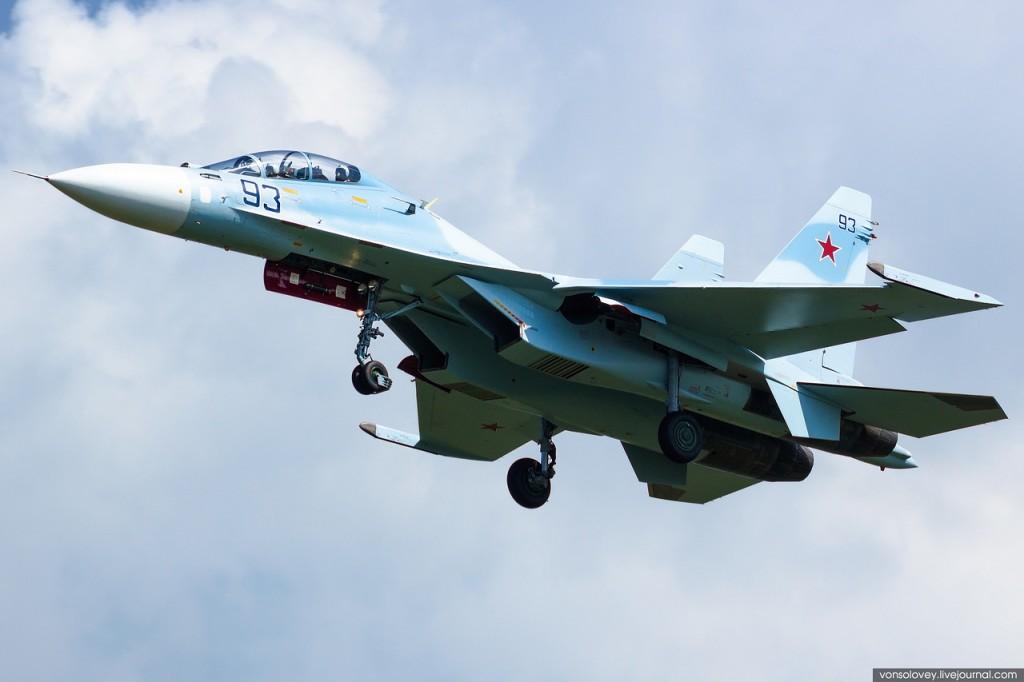 2014 o ano de ouro para  a Força Aérea Russa