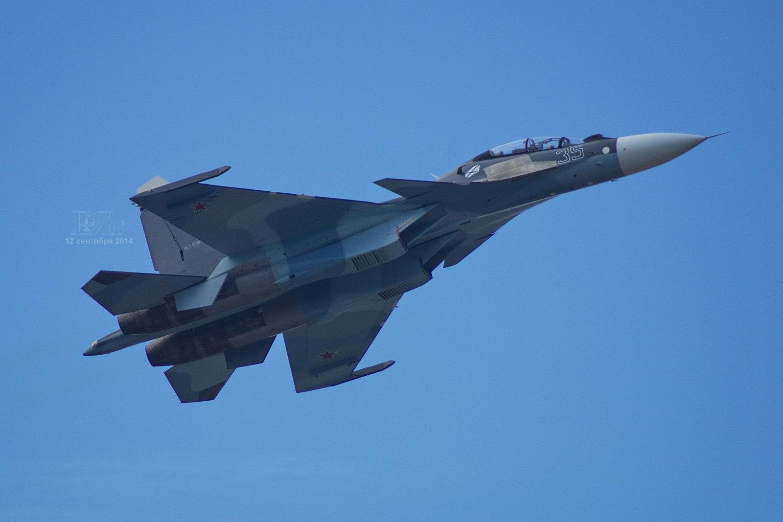 Armênia quer mais caças multifuncionais russos Su-30SM