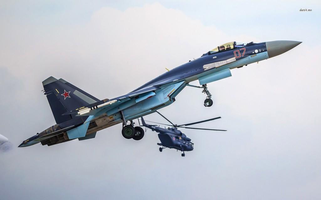 Pilotos Chineses estão na Rússia treinando para operar os caças SU-35 que chegarão em 2016