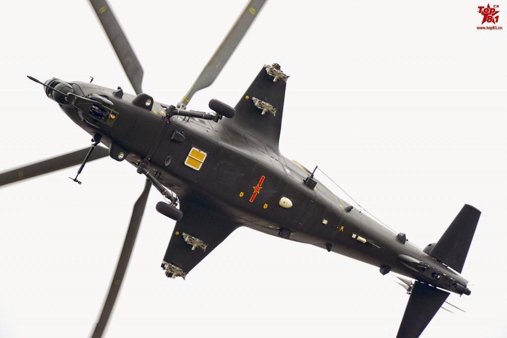 Paquistão pode se tornar o primeiro cliente estrangeiro do Helicóptero de ataque chinês Z-10
