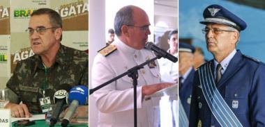 Novos chefes militares têm perfil conciliador