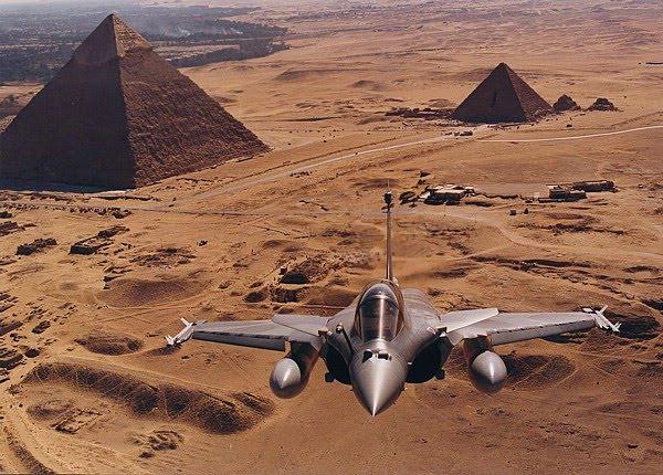 França perto de fechar acordo com o Egito para a venda de aviões e navios.