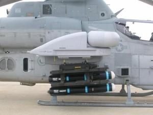 Radar Longbow instalado em um AH-1Z.