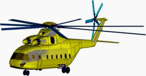 Novo helicóptero pesado Sino-Russo