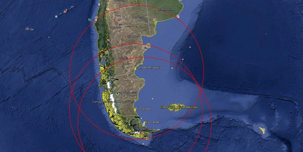 Alcance J-10 Operando na Argentina