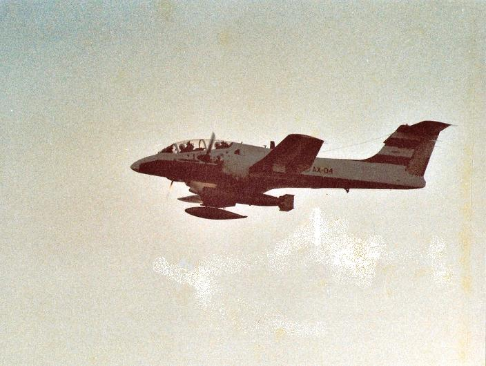 Argentina FMA IA-58 Pucará pruebas torpedo Mayo 1982 1