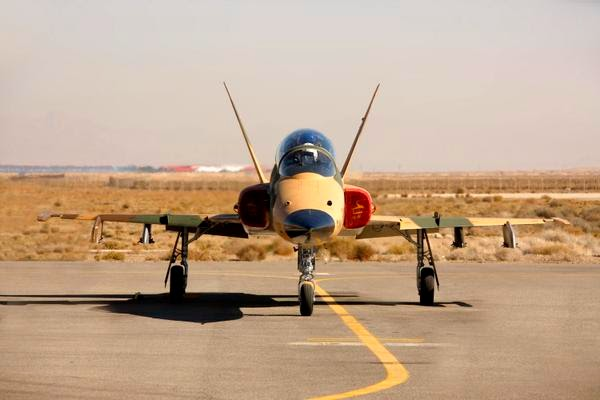 Iran unveils new Saeqeh 2 fighter jet 1