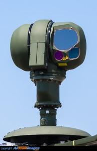 Tiger UHT helicópteros de apoio multi-função de fogo têm uma visão Osiris mastro montados de SAGEM, com infravermelho Charge Coupled Device (IRCCD) câmera e telêmetro laser.