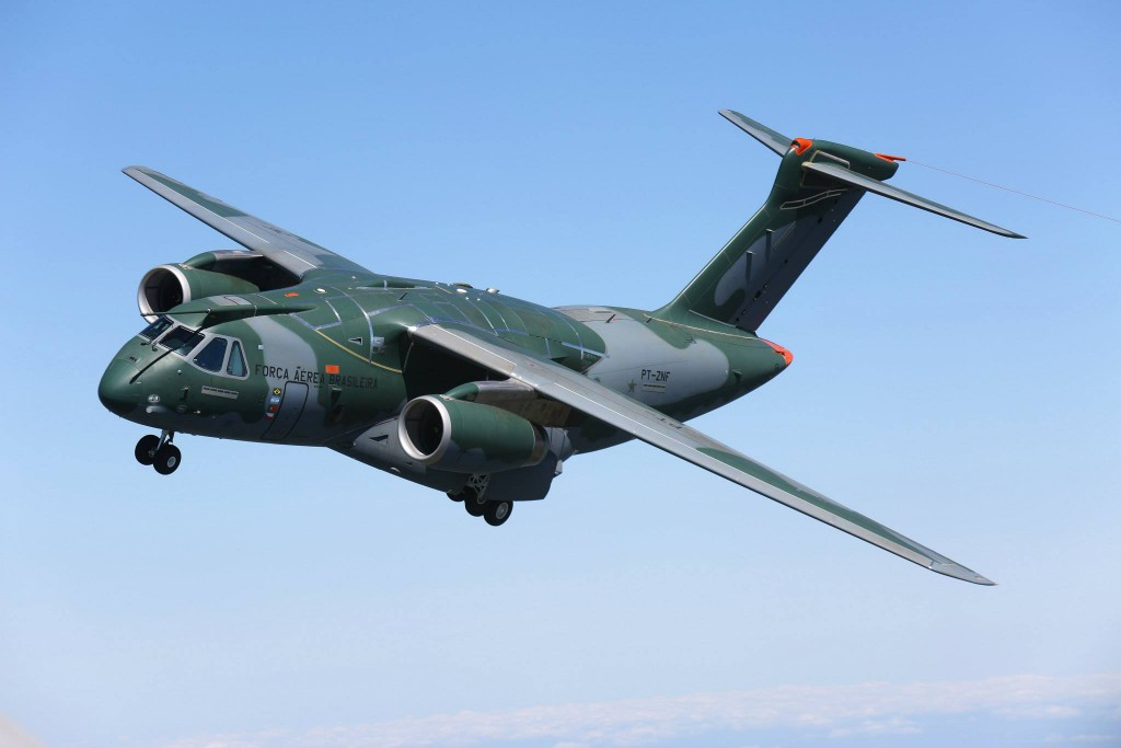voo do KC 390 Embraer (10)