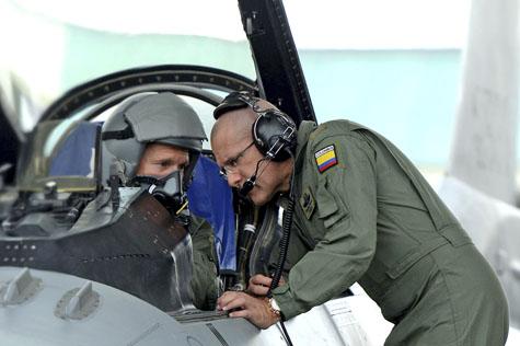 Colômbia interessada no F-16