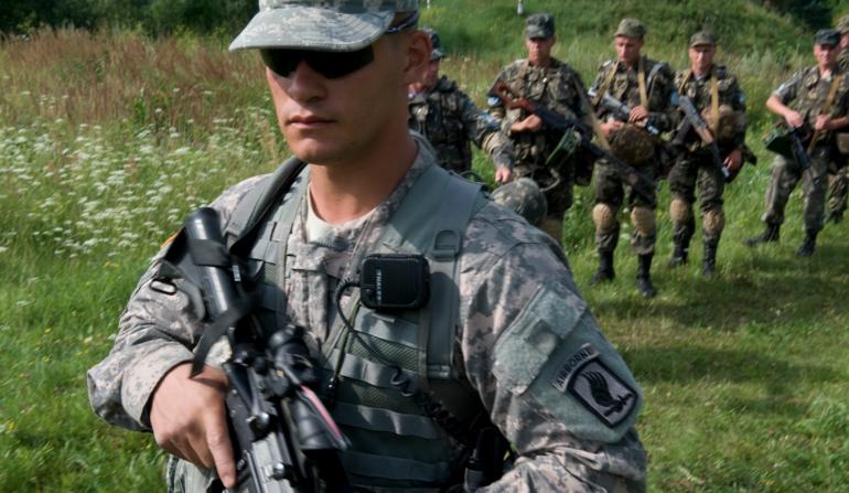 Fim do programa de treinamento: Soldados Americanos não vão mais para a Ucrânia
