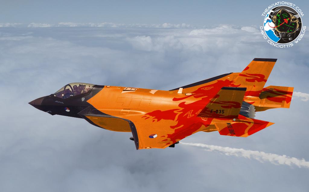 Países Baixos vão de F35