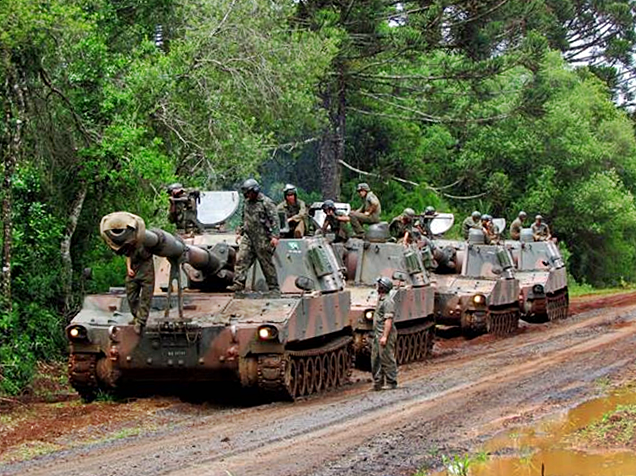 """Brasil: """"BAE Land Systems, via FMS (Foreign Military Sales), amplia seus contratos com a área militar"""""""